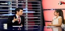 Öğrencimiz Sezin Irmak Gümüş, 23 Nisan'da Kanal 5 Ana Haber Bülteni'ni sundu