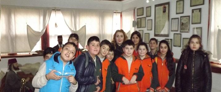 Okulumuz 10.03.2016 Tarihli (Mehmet Akif Ersoy Müzesi) Taceddin Dergahı Gezisi
